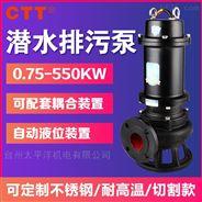 WQ潛污泵無堵塞立式污水潛水泵家用抽水泵