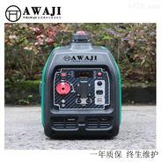 上海丹鹿4千瓦数码变频汽油发电机图片