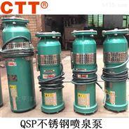 QSP不銹鋼噴泉泵 小區景觀音樂潛水泵