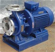 不锈钢化工防爆管道泵增压ISWR管道离心泵