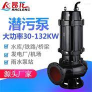 昂龙WQ移动式处理淤泥/泥沙提升泵