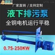 yw型工程排污泵液下式污水泵