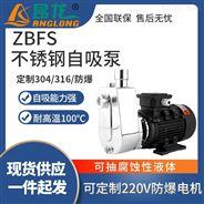 ZBFS抽酒精專用防爆自吸泵 不銹鋼水泵